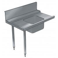 Electrolux Zulauftisch mit Becken 800 links
