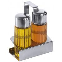 Menage 2-teilig Öl/ Essig 12x6x16cm