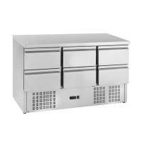 Kühltisch ECO 0/6 Mini - GN 1/1 | Kühltechnik/Kühltische/Gastro-Kühltische/Kühltische-Mini