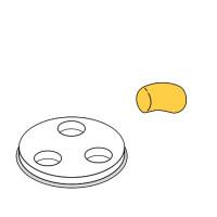 Nudelformscheibe Gnocchi 57