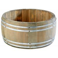APS Table Caddy -Holzfass- Ø 17,5 cm, H: 8,5 cm