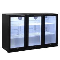 Barkühlschrank ECO 330 Liter mit Klapptüren schwarz
