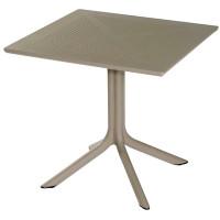 Tisch Ohio 80x80cm weiss