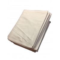 Bettlaken TB 26 / G 11, 100 % Baumwolle, weiß,  180 x 295 cm