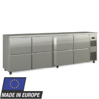 Barkühltisch PROFI 0/8 - Edelstahl