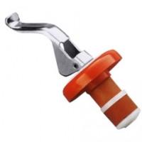 Flaschenverschluss schliesst tropfdicht, Durchmesser: 3 cm, Höhe 4 cm