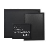 Wandtafel schwarz PVC, 80x60cm