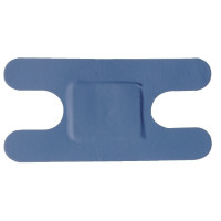 Pflaster blau sortiert - 100 Stück
