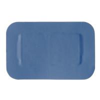Pflaster 4x4 cm, blau - 50 Stück