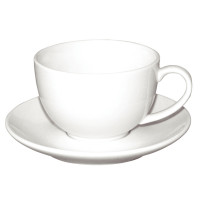 Olympia Whiteware elegante Untertasse für CD735