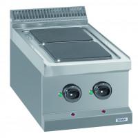 Elektroherd Dexion Serie 77 - 40/70 Tischgerät - quadratische Kochfelder