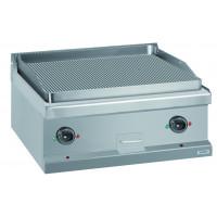 Elektrogrillplatte Dexion Serie 77 - 70/70 gerillt - Tischgerät