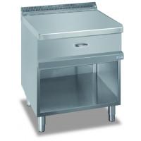 Neutralelement Dexion Serie 77 - 70/70 offener Unterbau, mit Schublade Kochtechnik/Neutrale Elemente & Untergestelle