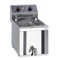 Elektro-Fritteuse Profi 6 Liter mit Ablasshahn, 230 V