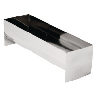Vogue Edelstahl Paté-/Terrineform U-Form 26x8x7,5 cm