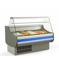 Fischkühltheke Profi 13x9 - gerades Frontglas | Kühltechnik/Kühltheken/Fischkühltheken