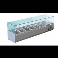 Kühlaufsatz Serie 330 mit Glasaufsatz 7x GN1/4