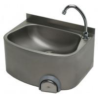 Handwaschbecken mit Aufkantung 480 x 350 x 230 mm