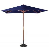 Sonnenschirm Bolero quadratisch - Breite 2,5m - blau