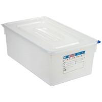 Araven Farbkodierte Lebensmittelbehälter GN 1/1, 10 cm | Lager & Transport/Lebensmittelaufbewahrung/Vorratsbehälter/Lebensmittelbehälter