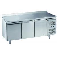Kühltisch ECO 3/0 mit Aufkantung - GN 1/1