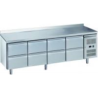 Kühltisch ECO 0/8 mit Aufkantung - GN 1/1   Kühltechnik/Kühltische/Gastro-Kühltische/Gastro-Kühltische 700