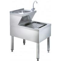 Handwasch-Ausgussbeckenkombination Basic 1
