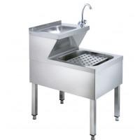 Handwasch-Ausgussbeckenkombination Basic 2