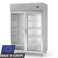 Kühlschrank Profi 1400 GN 2/1 mit Glastüren