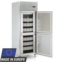Fischkühlschrank Profi 700 EN 600 x 400 - mit 2 Halbtüren