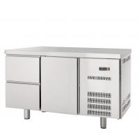 Kühltisch Profi 600 1/2 | Kühltechnik/Kühltische/Gastro-Kühltische/Gastro-Kühltische 600