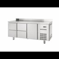 Kühltisch Profi 600 1/4 mit Aufkantung - GN1/1