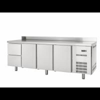Kühltisch Profi 600 3/2 mit Aufkantung - GN1/1