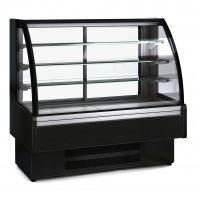 Kühlvitrine Profi 160S - rundes Frontglas
