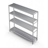 Standregal Profi 1190 x 400 x 1670 mm, 4 Böden | Kühltechnik/Kühlzellen & Aggregate/Regale