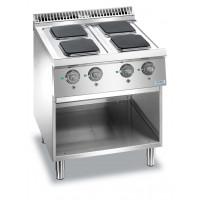 Elektroherd Dexion Lux 700 - 70/73 quadratische Kochfelder