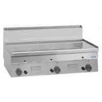 Elektro-Grillplatte Dexion Serie 66 - 100/60 glatt, verchromt Tischgerät