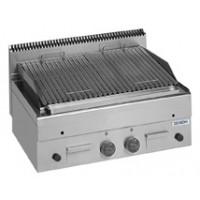 Lavasteingrill Dexion Serie 66 - 80/60 Fischgrillrost Tischgerät