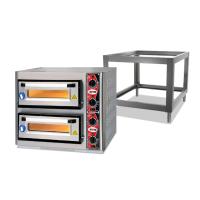 GMG Pizzaofen Classic 4 + 4x34cm mit Thermometer und Untergestell