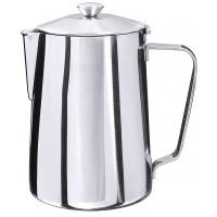 Kaffeekanne, aus Edelstahl 18/10, 0,3 Lt., Höhe 10,5 cm