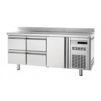 Tiefkühltisch Premium 1/4 mit Aufkantung   Kühltechnik/Kühltische/Tiefkühltische