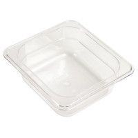 Vogue GN-Behälter 1/6 Polycarbonat - Tiefe 65 mm