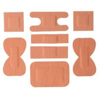 Pflaster Baumwolle, sortiert - 100 Stück