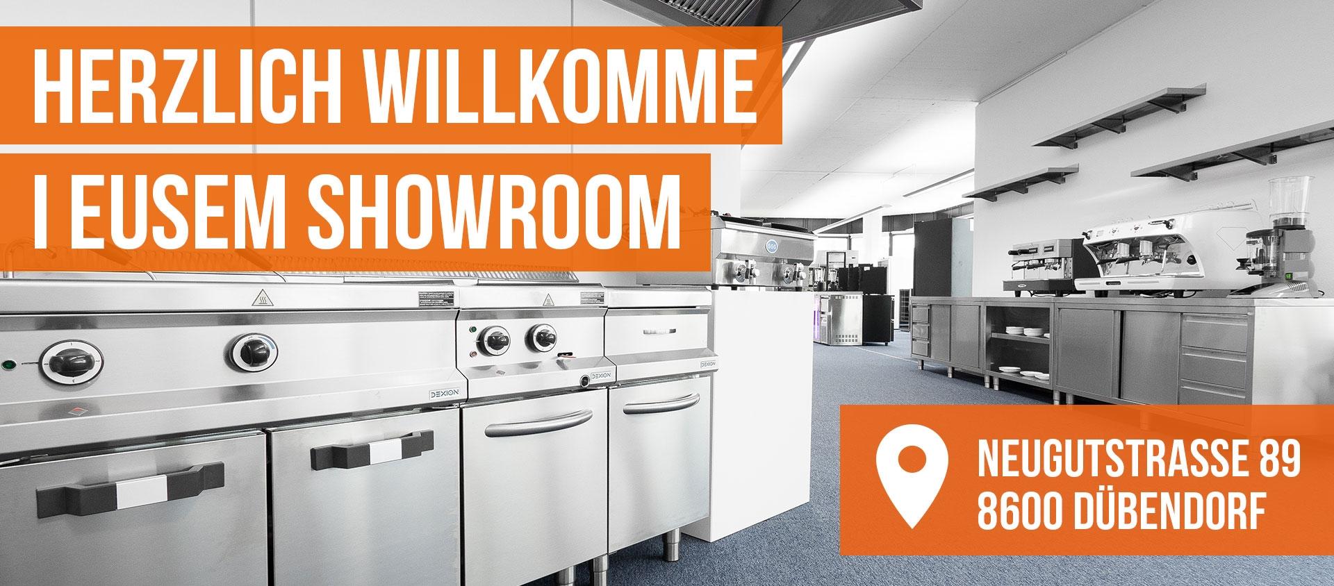 Showroom Online Shop Gastro Held Schweiz